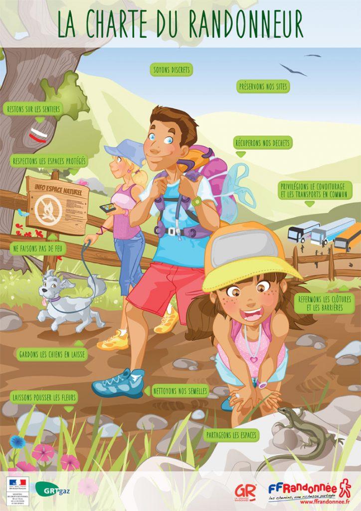 les bonnes pratiques en randonnée