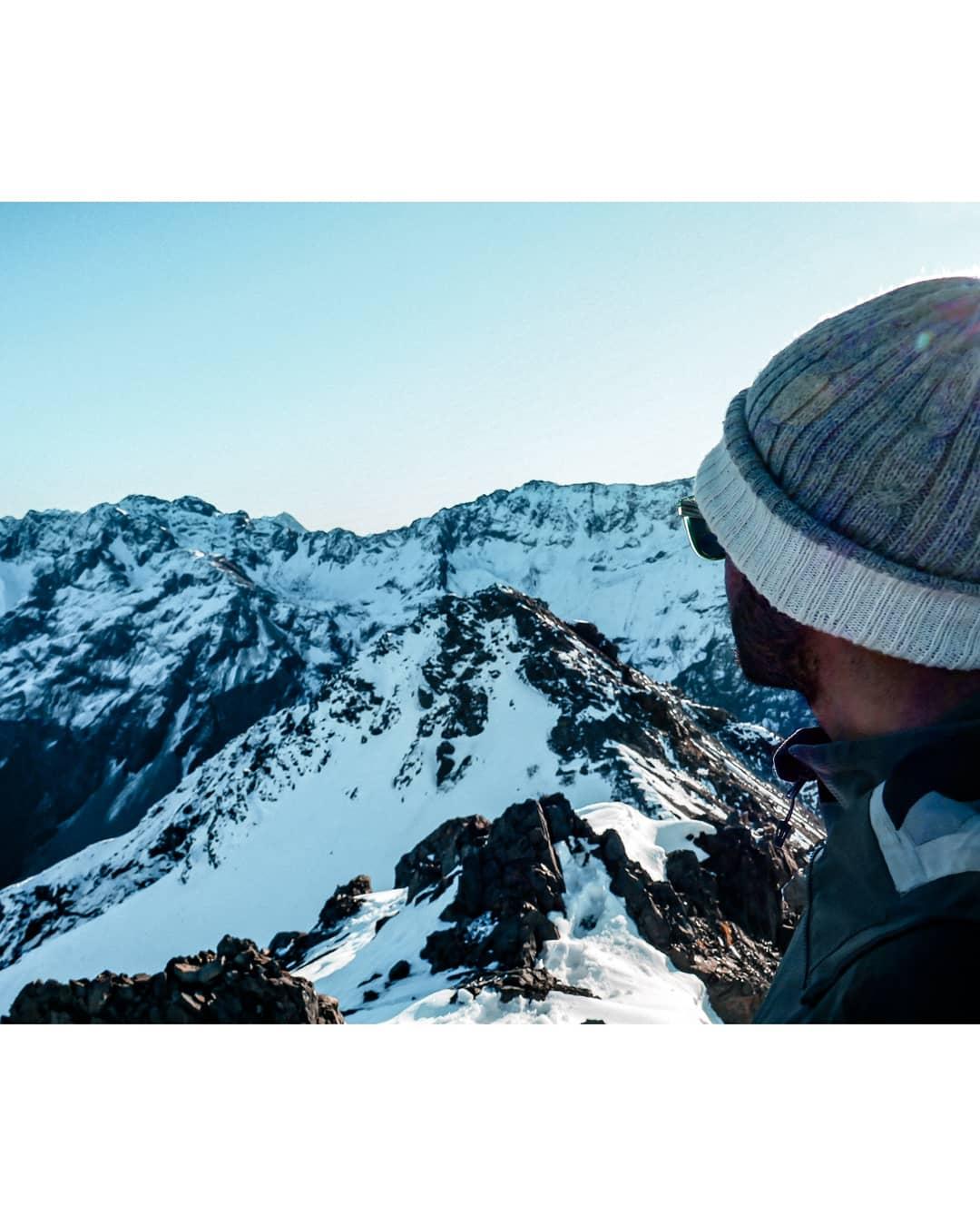 vue depuis le sommet de avalanche peak