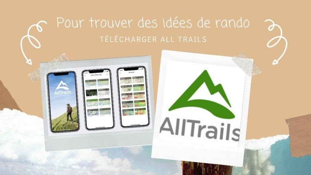 all trails super application pour la randonnée