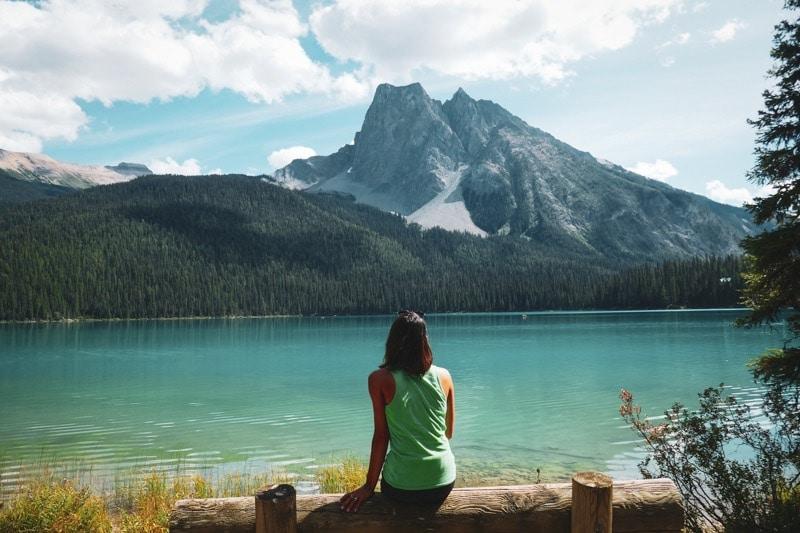 Le lac Emerald Canada