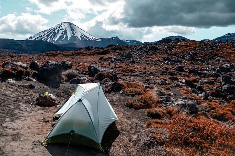 Camping à Oturere avec une vue magnifique