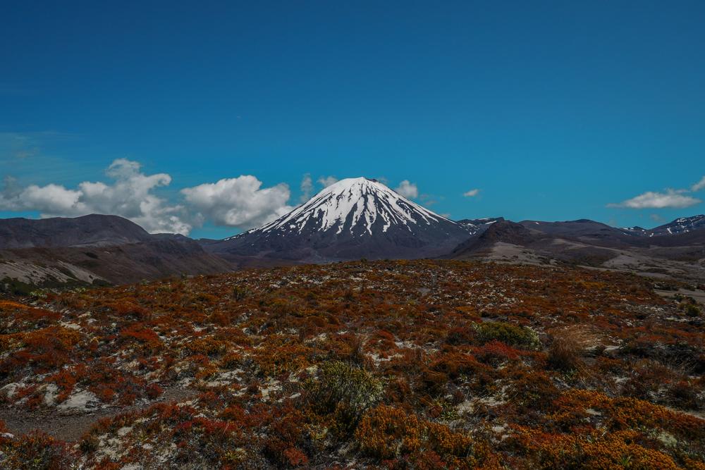 Randonnée du Tongariro Northern Circuit - jour 1
