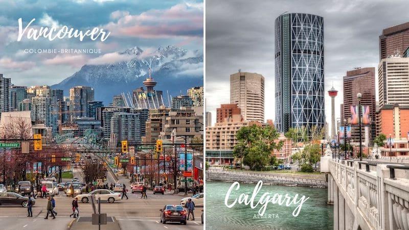Vancouver ou Calgary