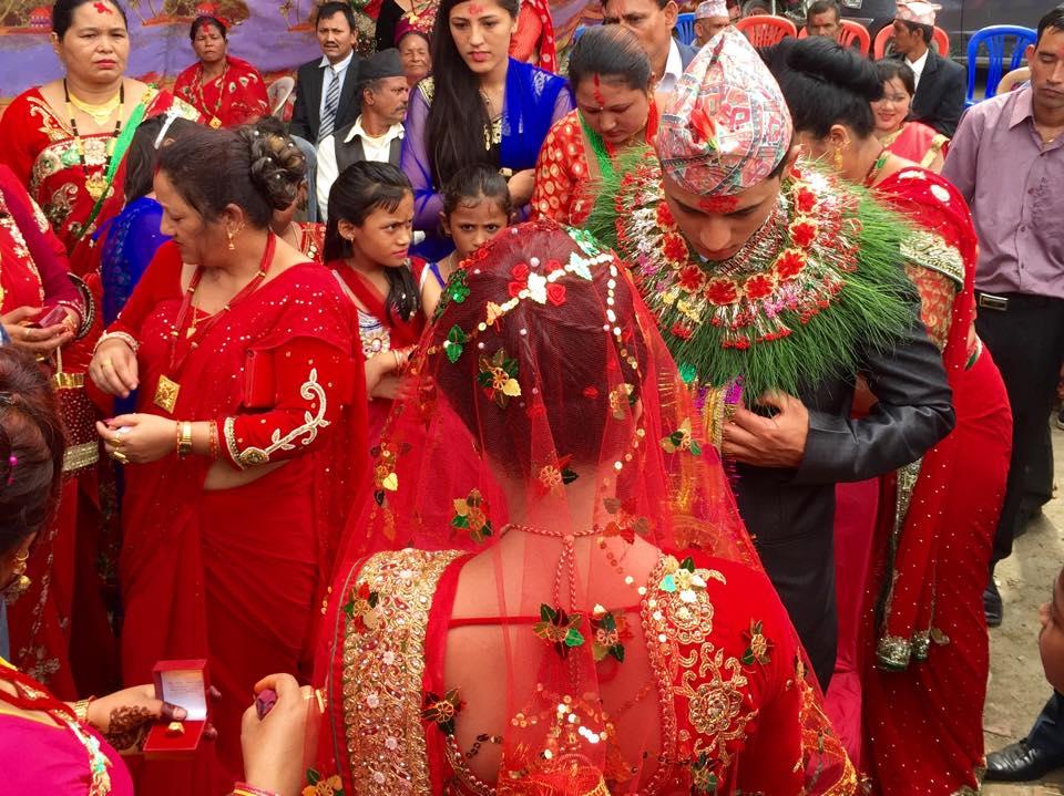 mariage népalais
