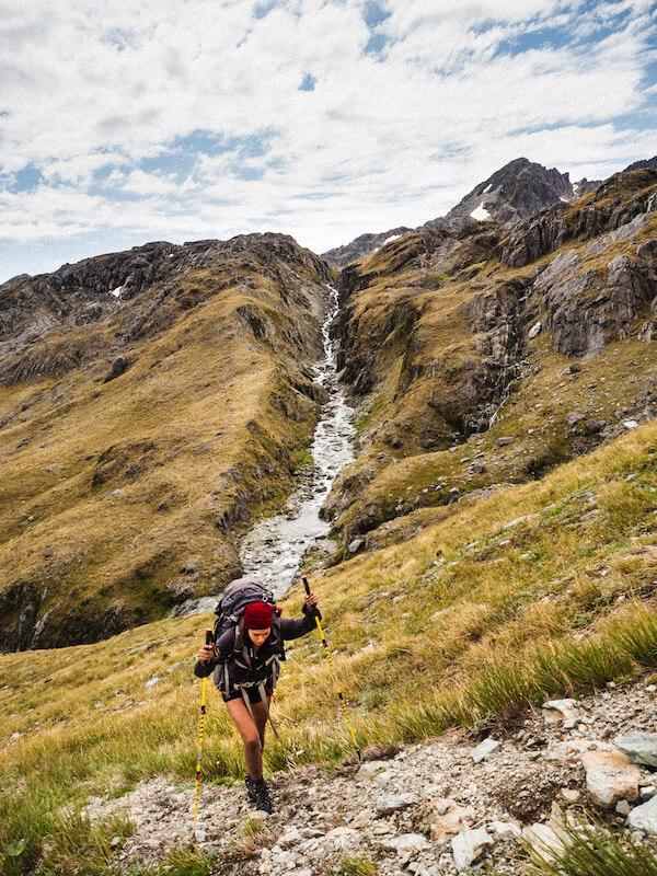 randonnée seule nouvelle zélande