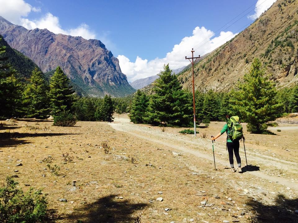 trek seule au népal